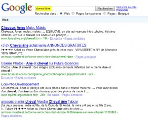 Google - Recherche AND / OR (1)